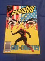 Daredevil #232 1st Nuke Key Issue Newsstand [Marvel Comics, 1986]