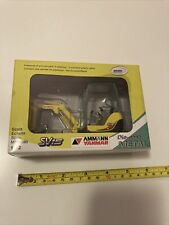 Brami Ammann Yanmar Mini Excavator Die-cast Metal SV15 Model Scale 1:32 New Box