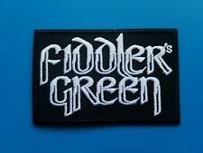 Fiddler's Green Patch Punk Rock Music Festival Sew or Iron On Badge