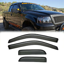 For 2004-08 Ford F150 Extended Cab Rain Guard Vent Shade Window Visors Deflector