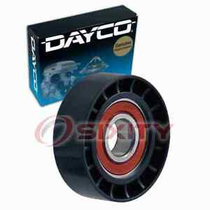 Dayco 89550 Drive Belt Idler Pulley for 231550 Engine Bearing Tension Belts tn