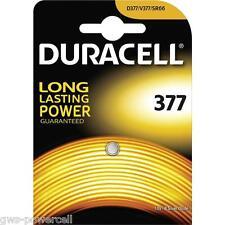 4 x Duracell 377 V377 D377 SR626SW Uhren Batterie Blister SR66 1,55 V 27mAh