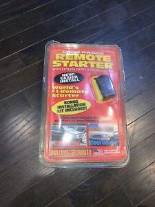 long range remote starter bulldog security