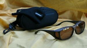 COCOONS FLEX2FIT C405C SLIMLINE 4 LENS POLARIZED SUNGLASSES ~ Fishing Glasses