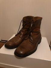 Belstaff Brown Boots Size 41 A.P.C. Saint Laurent Grenson