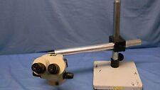 LW Scientific Z-2 Zoom Stereoscopic Microscope 0.65x-4.5x W/ Boom Stand TESTED