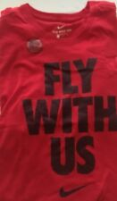 """Nike Red """"Fly With Us� DriFit Tshirt Nwt"""