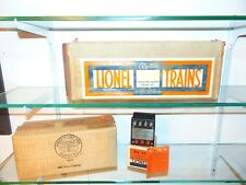 Excellent Lionel Original Prewar Master Carton with Boxes for #385W Tender