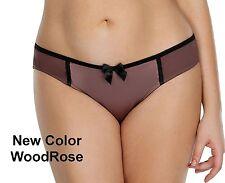 Affinitas PARFAIT Charlotte 6905 Retro Bikini Satin Panties XS-4X 7 Colors