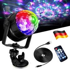 LED Discokugel Party RGB Bühnenbeleuchtung DJ Disco Lichteffekt Fernbedienung EU