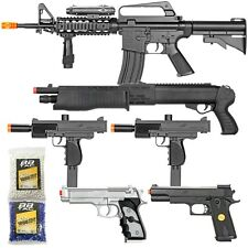 BBTac Airsoft Gun Package Black Ops Collection of Airsoft Guns Powerful Rifle