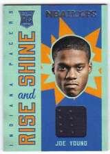 2015-16 Panini Hoops Rise N Shine Memorabilia Jersey RC Joe Young Pacers
