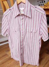 Great Looking Diesel Ladies Designer Short Sleeved Shirt. Size L