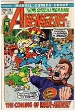Avengers #98 - Goliath Becomes Hawkeye, Very Fine - Near Mint Condition*