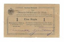 New listing German East Africa - 1916, One (1) Rupie