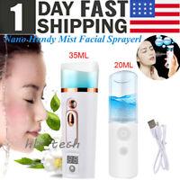 USB Nano Facial Mister- Handy Cool Mister Machine-Face Hydration Sprayer 20/35ml