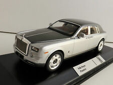 Rolls Royce Phantom 2003 Silver and Grey Metallic 1 43 IXO Moc163 Model