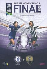 WOMEN'S FA CUP FINAL 2015 Chelsea v Notts County