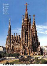 BG6221 barcelona projecte del temple de la sagrada familia    spain