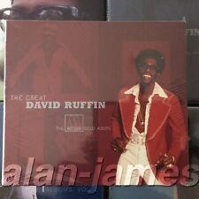 The Great David Ruffin: The Motown Solo Albums, Vol 2 OOP RARE Sealed CD Box Set