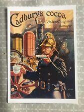 Vintage Cadbury's Cocoa, Chocolate advertising, postcard