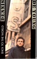 Dennis De Young Back To The World 1986 Hard Classic Rock Roll Cassette Tape Pop