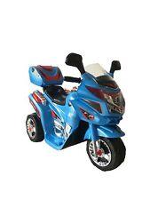 Mini Moto Elettrica Scooter Per Bambini A Batteria 6V COLORE BLUE