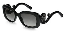 New LIMITED EDITION PRADA Catwalk ORNATE Black Crsytals Sunglass SPR 33P 1AB-0A7