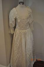 Vtg 70s GUNNE SAX Renaissance Bridal Collection Festival Dress Lace Wedding BoHo