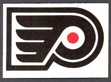 1977 78 OPC O PEE CHEE PHILADELPHIA FLYERS TEAM LOGO NM UNMARKED HOCKEY CARD