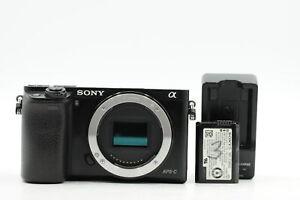 Sony Alpha A6000 24.3MP Mirrorless Digital Camera Body #940