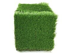 ECO MATRIX Artificial Grass Tiles Interlocking Fake Grass Deck Tile Synthetic