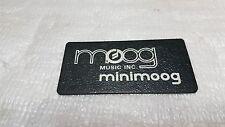 1978 MINI MOOG BADGE / LOGO