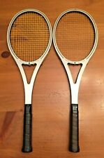 "2 Vintage AMF Head Aurther Ashe Competition Tennis Racquets 4 3/8"" & 4 1/2"""