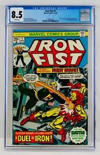 Iron Fist #1 CGC 8.5 White Pages Chris Claremont John Byrne HOT Key Bronze Grail