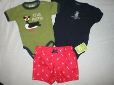 PPWC Ritz Carlton Aruba one piece infant plus lobster swim trunks 12 months