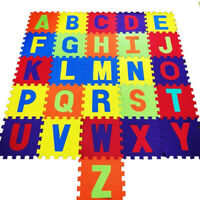 Alphabet 26pc Kids Play Mat Soft Foam Jigsaw Puzzle Baby Toddlers Children Toys