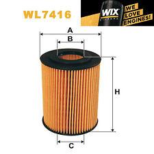 1x Wix Oil Filter WL7416