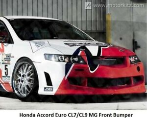 Honda Accord Euro CL7/CL9 MG Style Front Bumper