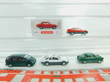 BO613-0,5# 5x Wiking H0/1:87 PKW Ford: 0203 Escort+Sierra+12M etc, NEUW+1x OVP