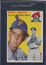 1954 Topps #011 Paul Smith Pirates Fair 54T11-41316-1