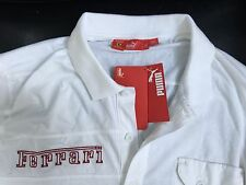 Puma Ferrari Polo Shirt $50 Retail!!! Save Big !!!!