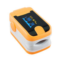 Finger Tip Pulse Oximeter+AlarmOximetery blood oxygen Monitor SPO2  +Lanyard
