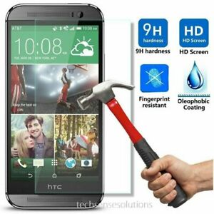 Premium Real Tempered Glass Anti-Scratch Screen Protector for HTC One M8
