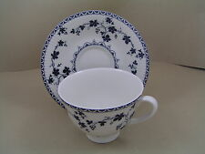 ROYAL DOULTON YORKTOWN RIBBED FOOTED LARGE CUP AND SAUCER.