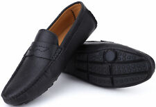 Mio Marino Mens Italian Dress Casual Loafers, Slip-on Driving Shoes in Gift Bag