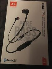 BRAND New JBL  BT110 In-Ear Headphones /Earphones  Black