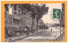 NOGENT-sur-MARNE (94) Commerce DROGUERIE-VITRERIE & CAFE-RESTAURANT animé en1913