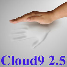 "Cloud9 2.5 Twin 2"" Foam Mattress Pad, Bed Topper"