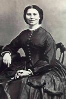 Clara Barton PHOTO Civil War Nurse AMERICAN RED CROSS 1863